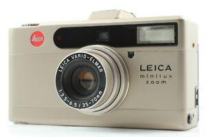 Leica Minilux Zoom 35mm Compact Point & Shoot Film Camera 35-70mm Panasonic 1280