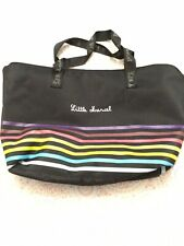 Little Marcel Women's Tote Black With Rainbow Colors*