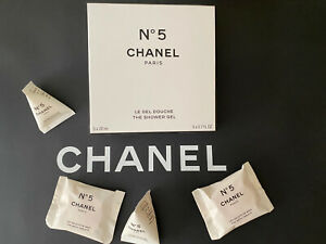 CHANEL FACTORY 5 BATH TABLETS LOTION SHOWER GEL LIMITED EDITION NEW & AUTHENTIC