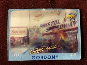 1997 Upper Deck Diamond Vision Signature Moves  #S1 NASCAR Jeff Gordon Auto Card