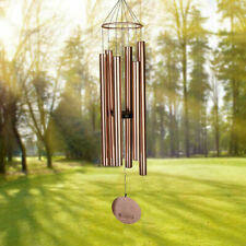 45 Inch Large Deep Tone Sympathy Wind Chimes Outdoor Memorial Gift Elegant Music