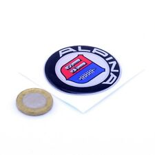 BMW Alpina Domed Gel Sticker Decal Badge Car Vinyl 50mm Round Wheel Centre