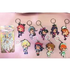 Love Live! School Idol Project 9pcs Characters Fans Gift Anime Keychain Keyrings