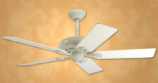 "NEW Hunter 52"" Dominion Fossil Ceiling Fan 5 Bleached Oak/Creme Blades 28458"