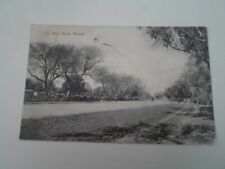 THE MOLL ROAD, MEERUT, Old Picture Postcard Franked 1907 §E107