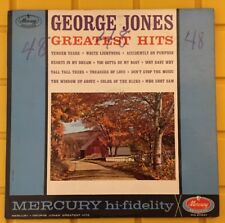 George Jones Greatest Hits 1961 Mercury MS20621 Mono hi-fidelity VG/EX Vinyl LP