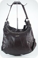 Trazo Damentasche in Lederoptik braun schwarz NEU Tasche Schultertasche