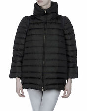 MIU MIU Down Puffer Jacket Coat in Black Size 44
