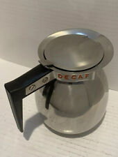 Vollrath Coffee Carafe 45680 Decaf Stainless Steel Restaurant Coffee Server 2 Qt