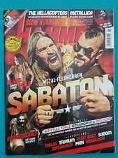 Metal Hammer August 2016 with CD in Booklet UNREAD 1A Absolute Top