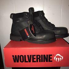 """Wolverine Men's Durashock Slip Resistant Gore- Tex Waterproof 6"""" Work Boot"""