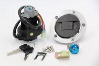 Ignition Switch Lock Set Fuel Gas Cap For Suzuki SV1000 2003-2005 SV650 2003-09