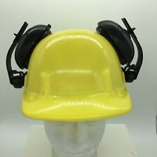 VTG Apex Safety Products Yellow Hard Hat with Ear Muffs CYCO Model -Made In USA-