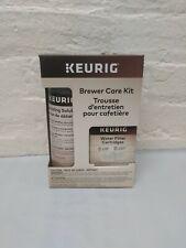 NEW! Keurig Brewer Care Kit Descaling Solution + 2PK Hot Water Filter Cartridges