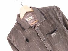 MH997 DIESEL SHIRT TOP ORIGINAL PREMIUM VINTAGE FADED STRETCHED STRIPED size S