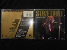 RARE CD STEVE EARLE / BBC RADIO / LIVE IN CONCERT /