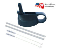 Smart Flask Straw Lid, Fits Wide mouth, 18,32,40oz, Hydro Flask, Hydro Cell etc.