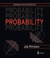 College math textbooks 1950 1999 publication year ebay springer texts in statistics probability by jim pitman 1999 hardcover fandeluxe Choice Image