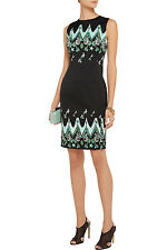 Versace Collection Printed cady dress ( EU 42- US 6)