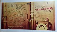 ROLLING STONES 1968 BEGGARS BANQUET VINTAGE ALBUM PROMO POSTER NOS -NICE!