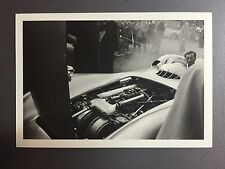 1954 Mercedes Benz W196 Reims France Jesse Alexander Postcard Post Card RARE!!
