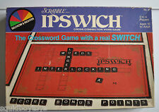 IPSWICH SCRABBLE Board Game 1983 Selchow & Righter W/ Black Scrabble Tiles