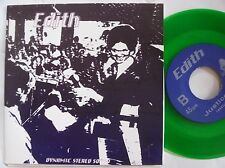 "EDITH ~ RARE baltimore INDIE 7"" 1994 punk ~ LIMITED and #'D ~ HEAR IT! 45"
