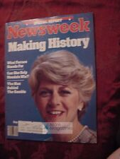 NEWSWEEK July 23 1984 GERALDINE FERRARO Campaign Olympic Security Import Quotas