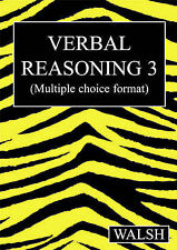 Verbal Reasoning Book 3 Mary, Barbara Walsh Multiple Choice 9780955309922