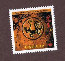 2010 CHINESE LUNAR NEW YEAR OF THE TIGER CANADA STAMP  CANADIAN  MINT FROM SHEET