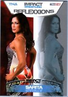 TNA Sarita #47 2012 Reflexxions SILVER Parallel Card SN 12 of 40