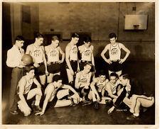 M P BASKETBALL TEAM 8X10 Photograph-1944/1945-SPORTS/ATHLETIC