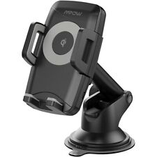 MPOW - M4.1 Car Holder/Charger for Mobile Phones - Black