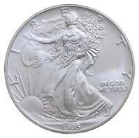 Better Date 1995 American Silver Eagle 1 Troy Oz .999 Fine Silver BU Unc