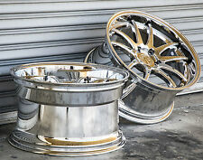 "18X9.5"" AodHan DS02 5X114.3 +30 Vacuum Chrome Rims Set Of (4)"
