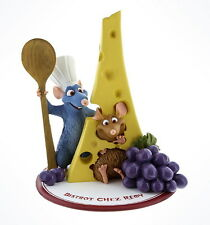 NIB Disney Parks World Ratatouille Chef Remy Fromage Figurine