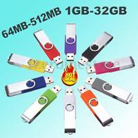 Memoria USB 2.0 Pendrive Memory Stick 1 2 4 8 16 32 GB G 64 128 256 512 MB M