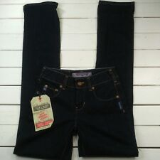 Silver Jeans Womens Euro Fit Sz 25x34 Dark Denim Mid Rise Skinny NEW J1-13
