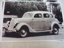 1935 FORD  4DR TRUNK BACK SEDAN  11 X 17  PHOTO /  PICTURE