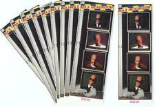10 MAX HEADROOM MINI-POSTER BOOKMARKS 1987