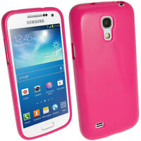 Gel TPU Skin Case Cover for Samsung Galaxy S4 MINI I9190 9195 Optus Variant ONLY
