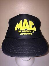 MAC WRENCH TOOLS MESH VINTAGE SNAPBACK Trucker Hat Baseball Cap Retro Rare BB