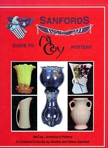 McCoy Pottery Stoneware - Patterns Design Numbers Dimensions / Book + Values