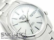 SEIKO 5 SNKL41 SNKL41K1 21 Jewels Automatic White Ready to Ship !