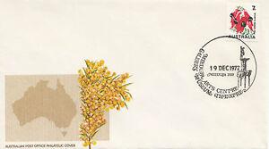 Postmark Mildura Arts Centre Gallery Museum on wattle generic cover APM4880