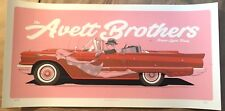 🔥 The Avett Brothers 2017 Poster Print Sugarland Houston TX Signed #/200