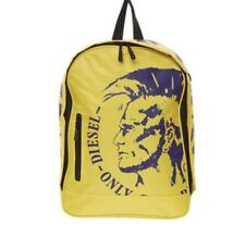 NWT Diesel Only The Brave Yellow Backpack