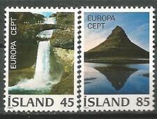 ISLANDIA EUROPA cept 1977 MNH