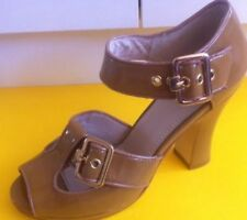 Buckle Leather Shoes Wittner for Women