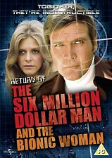 Return Of The Six Million Dollar Man And The Bionic Woman - DVD NEW & SEALED